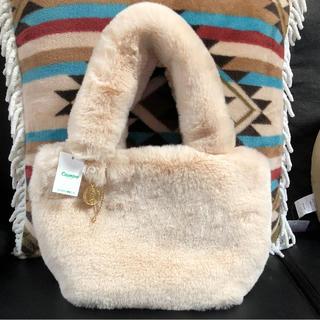シマムラ(しまむら)の新品♡ファーバッグ(ハンドバッグ)