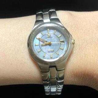 CITIZEN - シチズン アテッサ エコドライブ 軽量 チタンバンド レディース 腕時計