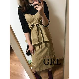 ☆GRL☆グレイル  ビスチェワンピース