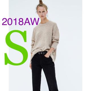 ZARA - *2018AW*ZARA リブトリム付き セーター