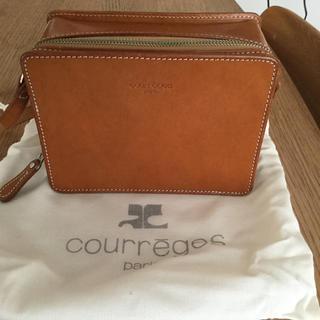 クレージュ(Courreges)のクレージュ(courreges)ショルダーバック〈アンティーク、ビンテージ 〉(ショルダーバッグ)