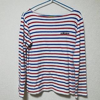 アディダス(adidas)のアディダス 長袖 Tシャツ Lサイズ(Tシャツ(長袖/七分))