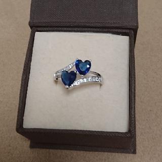 青いハートの指輪(リング(指輪))