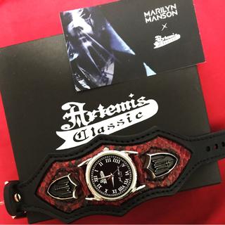 アルテミスクラシック(Artemis Classic)のマリリン・マンソン限定コラボウォッチ(腕時計(アナログ))