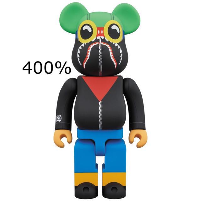 MEDICOM TOY(メディコムトイ)のベアブリック  エイプ 400% bape エンタメ/ホビーのおもちゃ/ぬいぐるみ(キャラクターグッズ)の商品写真