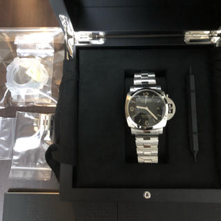 オフィチーネパネライ(OFFICINE PANERAI)のパネライ ルミノール マリーナ 1950 3デイズアッチャイオ 未使用です(腕時計(アナログ))