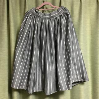 しまむら - しまむら ストライプスカート size L