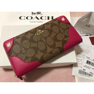 COACH - COACH コーチ 長財布 新品正規品 箱付き 即購入OK