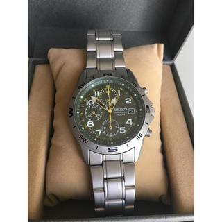 セイコー(SEIKO)の《超美品》SEIKO import 海外モデメンズ 腕時計(腕時計(アナログ))