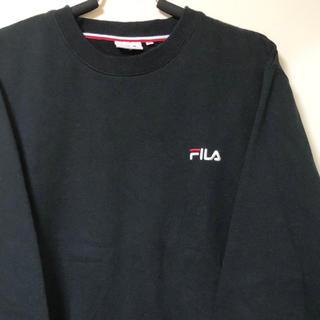 SPINNS - FILA ロゴ 刺繍 スウェット トレーナー