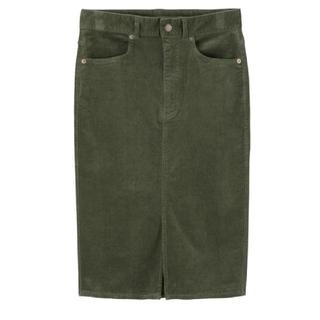 GU - コーデュロイタイトスカート GU Sサイズ