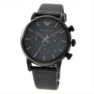 エンポリオアルマーニ(Emporio Armani)の新品☆未使用 アルマーニ 腕時計 メンズ ブラック (腕時計(デジタル))