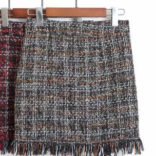 チェック柄♡タイトスカート(ミニスカート)