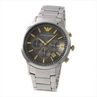 エンポリオアルマーニ(Emporio Armani)の新品☆未使用 アルマーニ 腕時計 シルバー メタリックグレー (腕時計(アナログ))