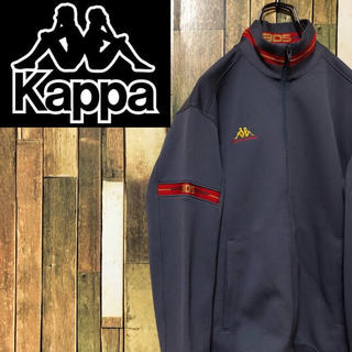 Kappa - 【激レア】カッパkappa☆ロゴ入ラインリブトラックジャケット・ジャージ