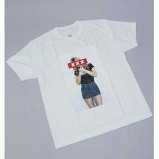 ジィヒステリックトリプルエックス(Thee Hysteric XXX)の完売 新作 GOD SELECTION XXX ホワイトM(Tシャツ/カットソー(半袖/袖なし))