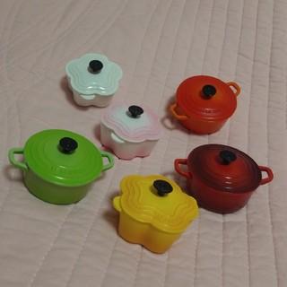 ルクルーゼ(LE CREUSET)の午後の紅茶 LE CREUSET なべ マグネット(その他)