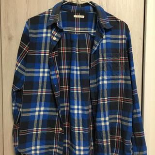 ジーユー(GU)のGU チェックシャツ 150(Tシャツ/カットソー)