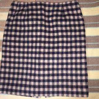 ロペピクニック(Rope' Picnic)のチェックタイトスカート(ひざ丈スカート)