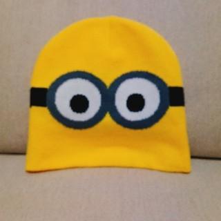 ミニオン(ミニオン)のミニオンのニット帽(キャラクターグッズ)