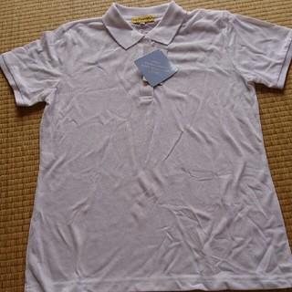 シマムラ(しまむら)の新品 白いポロシャツ (Tシャツ(半袖/袖なし))