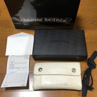 クロムハーツ(Chrome Hearts)の本物 人気商品 クロムハーツ ウォレット  長財布 三つ折り ホワイト(長財布)