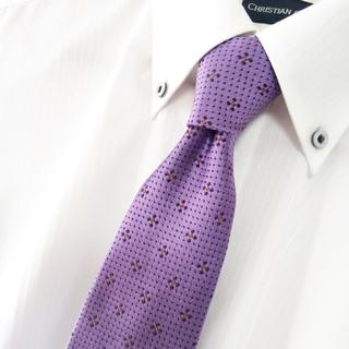 キトン(KITON)の美品 Mattabisch シルク 総柄 小紋 ネクタイ イタリア製(ネクタイ)