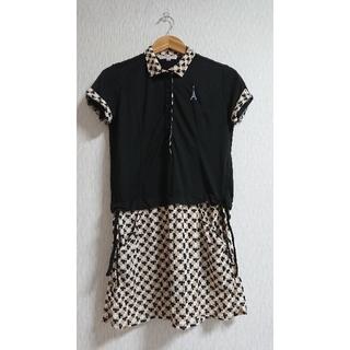 マリクレール(Marie Claire)のマリクレールスポーツ ポロシャツ風チュニック(ポロシャツ)