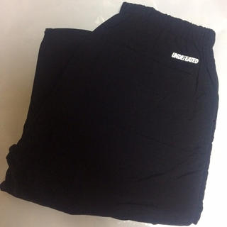 UNDEFEATED - 黒 L UNDEFEATED WARM-UP PANTS
