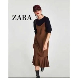 ZARA - zara  ワンピース スエード