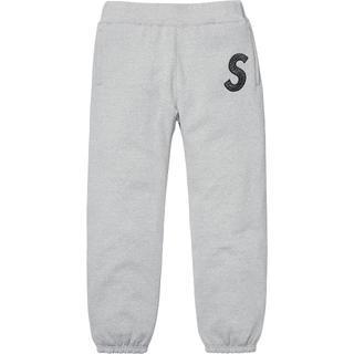 Supreme - Supreme S Logo Sweatpant  灰 Sサイズ 18AW