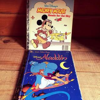 ディズニー(Disney)のディズニーミッキーマウス アラジン 洋書 ビンテージ(洋書)