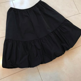 エムズグレイシー(M'S GRACY)の💖エムズグレイシー 💖タフタ バルーンスカート  36  美品です。(ひざ丈スカート)