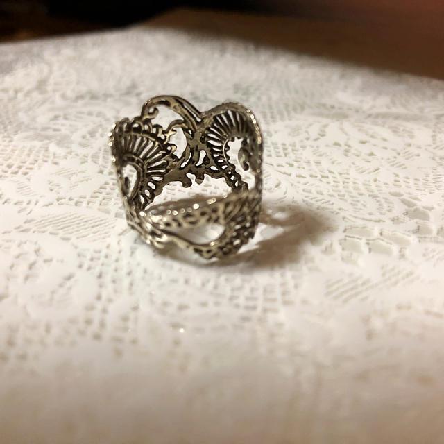 KAORU(カオル)のKAORU カリグラフィーリング レディースのアクセサリー(リング(指輪))の商品写真