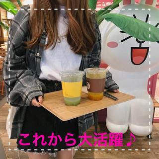 【大人気♡】チェック柄 カジュアル シャツ(シャツ/ブラウス(長袖/七分))
