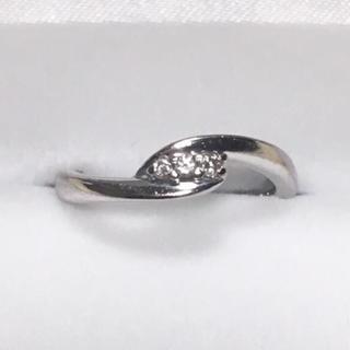 ヨンドシー(4℃)のK18 ダイヤ リング(リング(指輪))