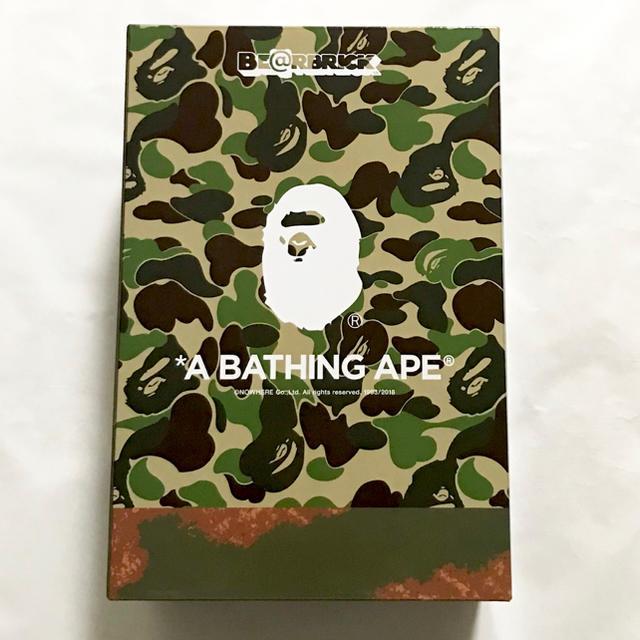 A BATHING APE(アベイシングエイプ)のA BATHING APE × READY MADE 100% 400% エンタメ/ホビーのフィギュア(その他)の商品写真