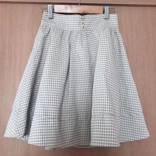 アロー(ARROW)のギンガムチェック スカート(ミニスカート)