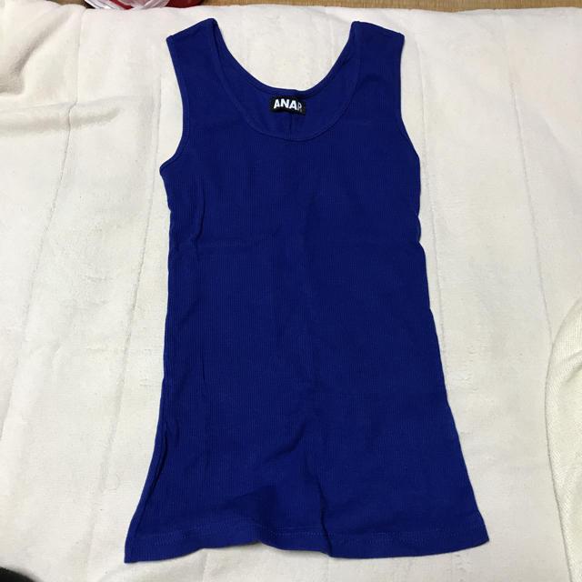 ANAP(アナップ)のファッション トップス スカート ワンピース INGNI GRL Heather レディースのトップス(タンクトップ)の商品写真