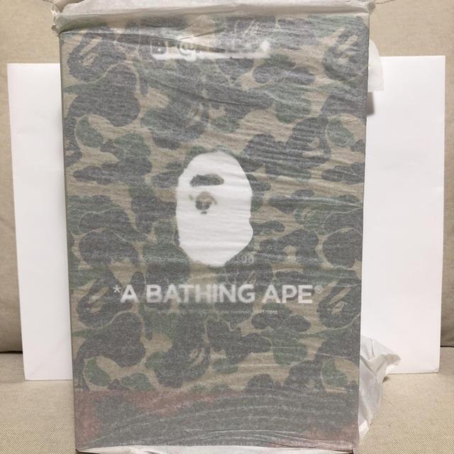 A BATHING APE(アベイシングエイプ)の BE@BRICK READYMADE APE ベアブリック レディーメイド エンタメ/ホビーのおもちゃ/ぬいぐるみ(キャラクターグッズ)の商品写真