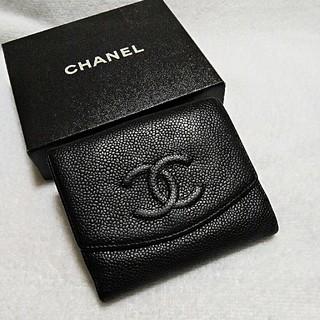 CHANEL - 綺麗!シャネル  キャビア  ココマーク  財布