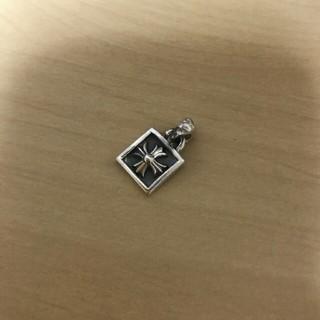 クロムハーツ(Chrome Hearts)のクロムハーツ フレームドCHクロスチャーム(ネックレス)