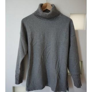 ジーユー(GU)のGU ジーユー リブ編みニット セーター(ニット/セーター)