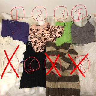ニット セーター まとめ売り(ニット/セーター)