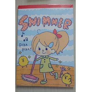スイマー(SWIMMER)の新品!未使用!わくわく落書き帳 おそうじ SWIMMER(スイマー)(ノート/メモ帳/ふせん)