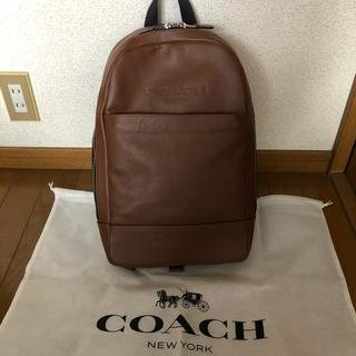 コーチ(COACH)のcoach リュック(バッグパック/リュック)
