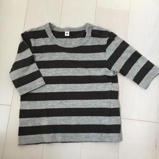 MUJI (無印良品) - 無印 七分袖Tシャツ 80