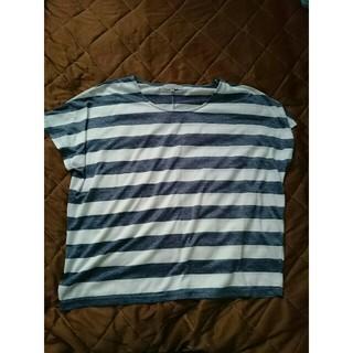 シマムラ(しまむら)のしまむら セオリア ボーダーTシャツ(Tシャツ(半袖/袖なし))