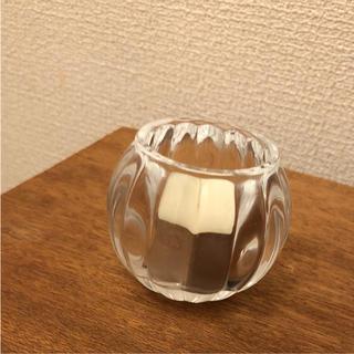 ガラス キャンドルホルダー(キャンドル)