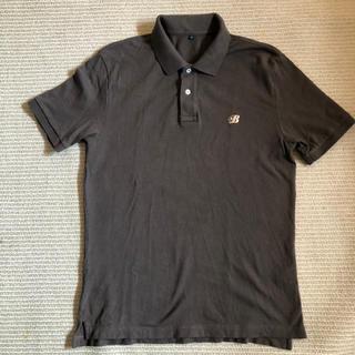 ムジルシリョウヒン(MUJI (無印良品))の無印良品×ハウスインダストリーズ ポロシャツ ブラウン サイズL(ポロシャツ)